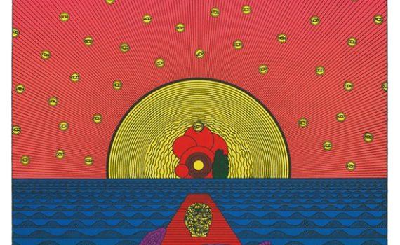 粟津潔展 expose2021 海亀と天使の手