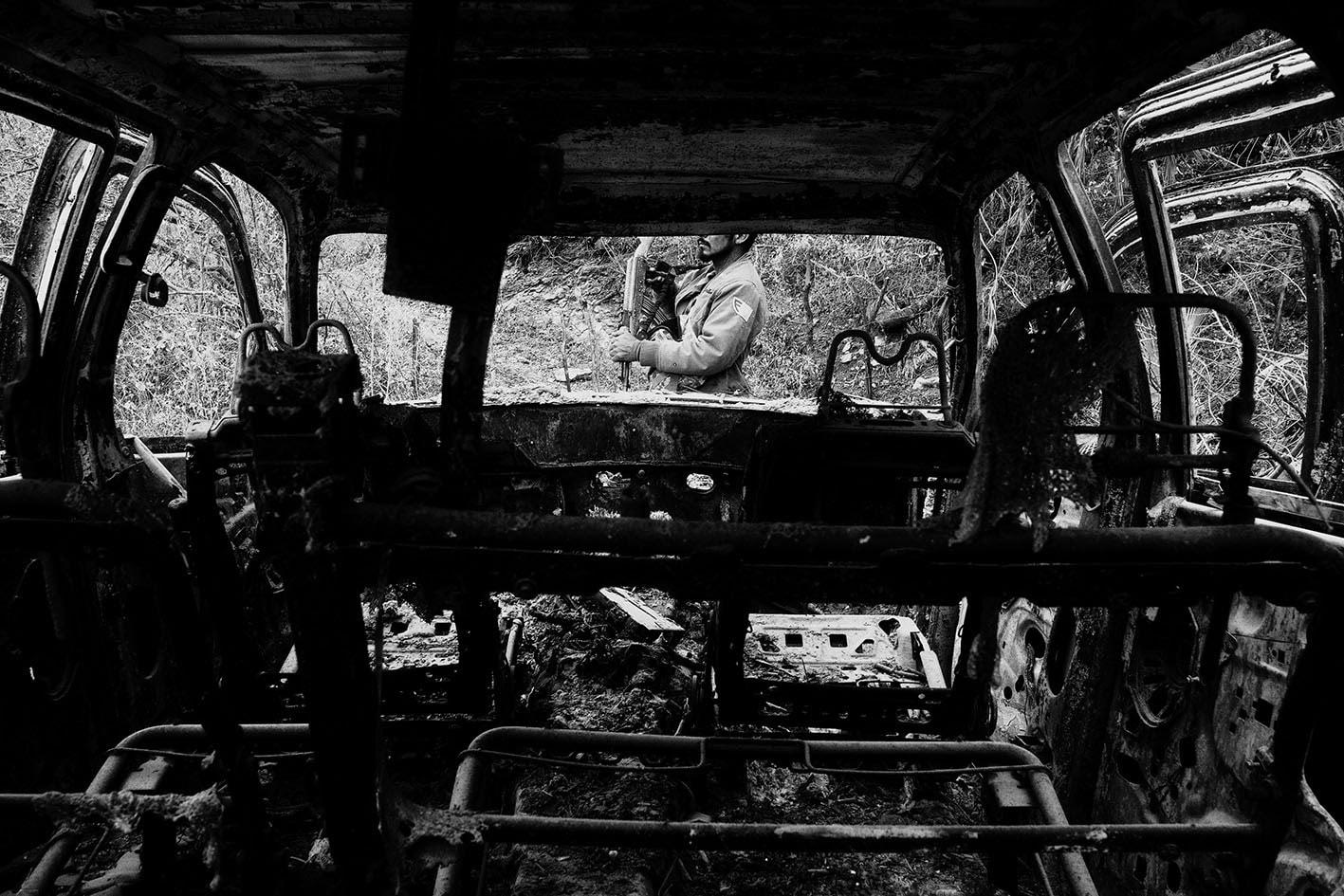 亀山 亮 写真展「メキシコ・日常の暴力と死」